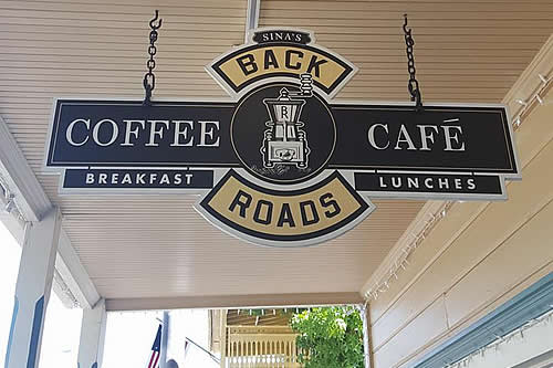 sutter creek restaurants back roads cafe