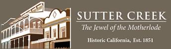 Sutter Creek – Lodging, Restaurants, Activities, Services Logo