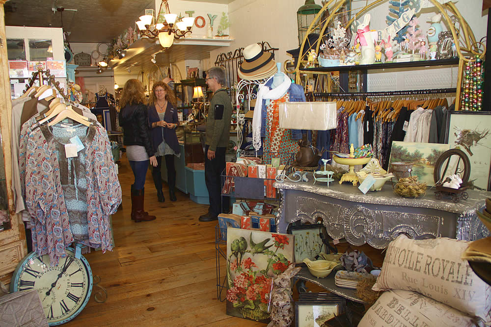sutter creek shops - antique, fashion, gift shops, art galleries