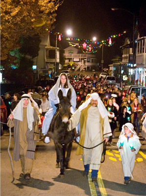 los posadas candlelight walk sutter creek