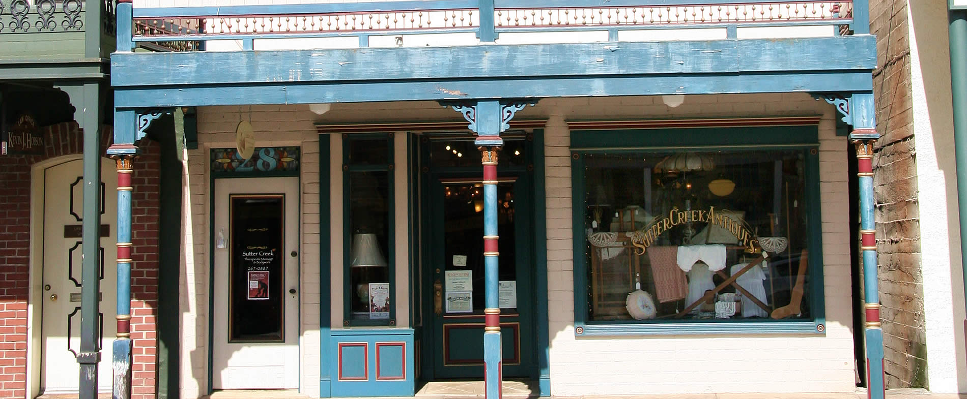 sutter creek antique shops