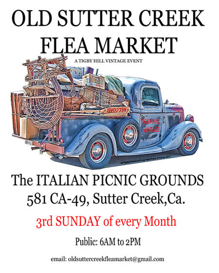 old sutter creek flea market