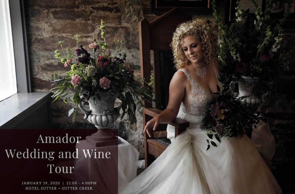 Sutter Creek Wedding & Wine Event 2020