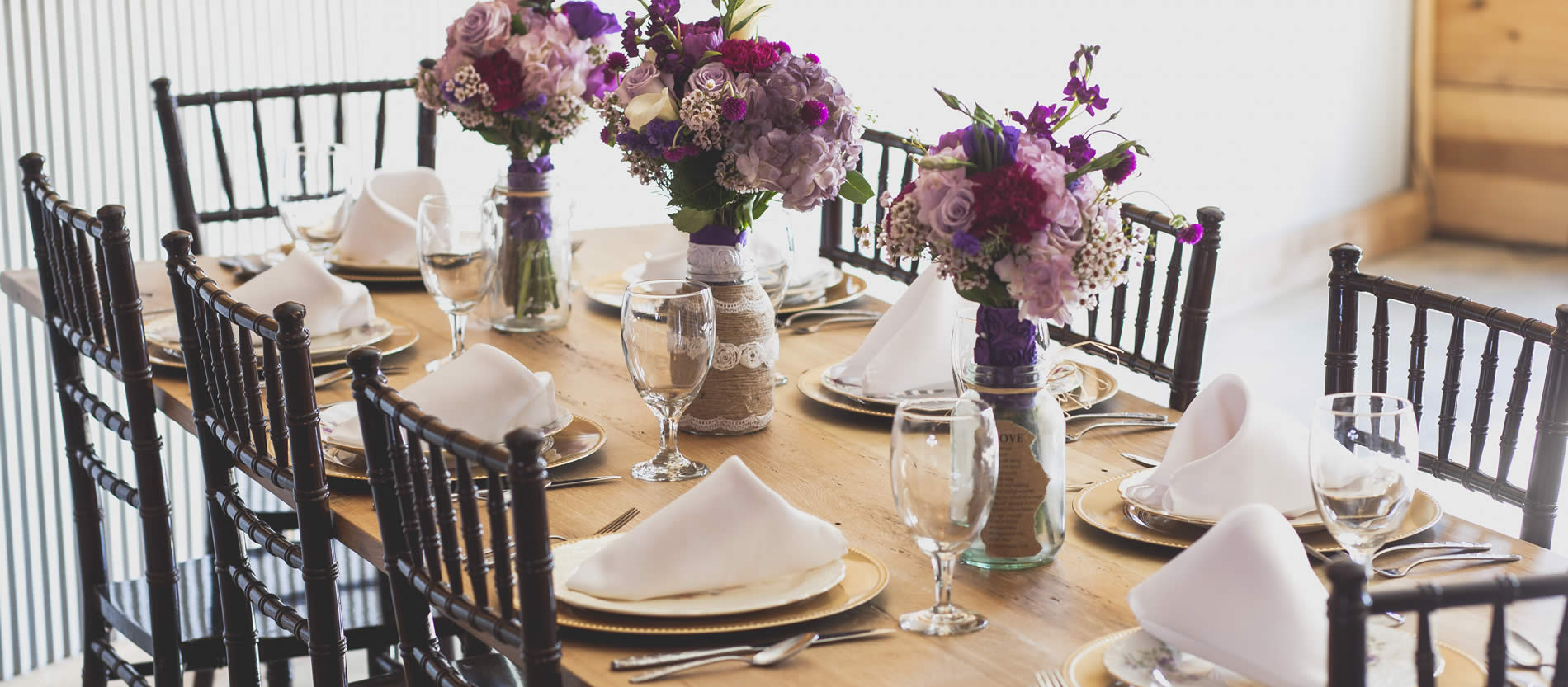 sutter creek wedding table
