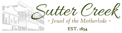 Sutter Creek – Lodging, Restaurants, Activities, Services Logo