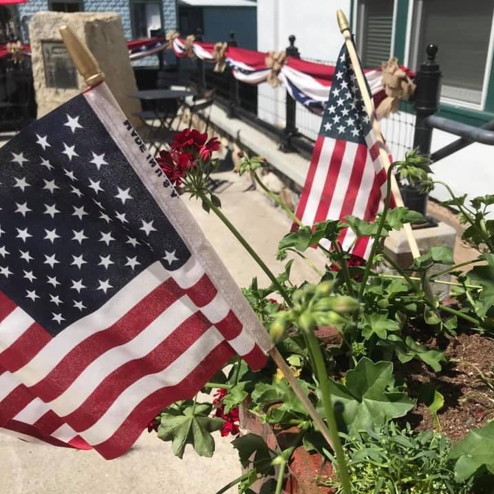 sutter creek americana summer decorations