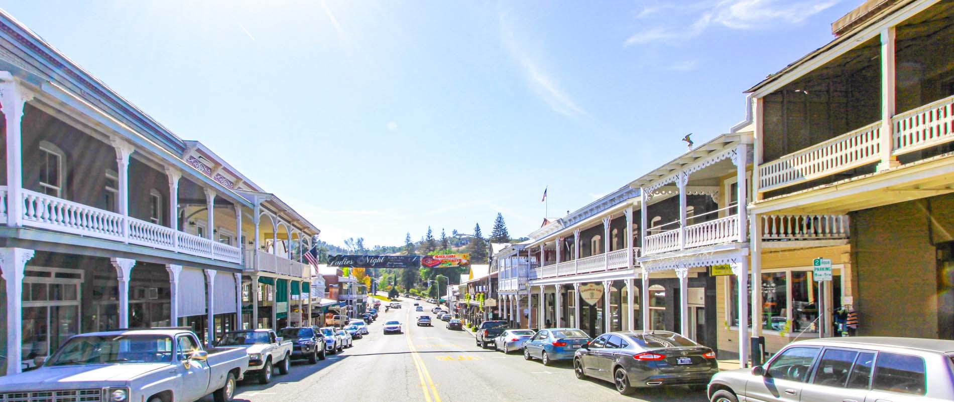 main street in sutter creek ca